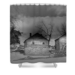 Mccormick Farm 2 Shower Curtain by Todd Hostetter