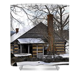 Mccormick Farm 5 Shower Curtain by Todd Hostetter