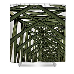 Mccullough Memorial Bridge Shower Curtain