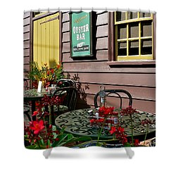 Mcgarvey's Saloon And Oyster Bar Shower Curtain