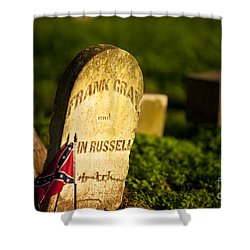 Mcgavock Confederate Cemetery Shower Curtain by Brian Jannsen