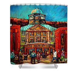 Mcgill Gates Montreal Shower Curtain