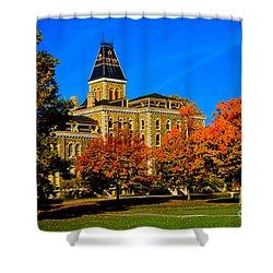 Mcgraw Hall Cornell University Shower Curtain
