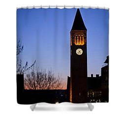 Mcgraw Tower Cornell University Shower Curtain