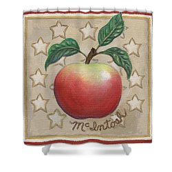 Mcintosh Apple Two Shower Curtain by Linda Mears