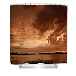 Mciver Lake Shower Curtain by James Peterson