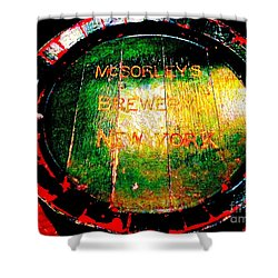 Mcsorleys Brewery Shower Curtain