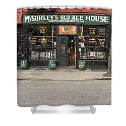 Mcsorley's Old Ale House Shower Curtain by Doc Braham