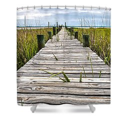 Mcteer Dock Shower Curtain