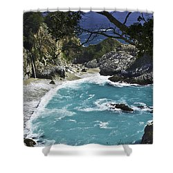 Mcway Falls - Big Sur Shower Curtain