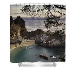 Mcway Falls Shower Curtain by Michele Steffey