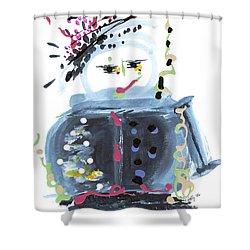 Me Stewpot Shower Curtain