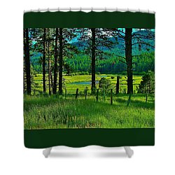 Meadow 8 Shower Curtain