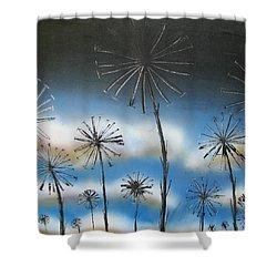 Meadow At Dawn Shower Curtain