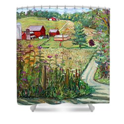 Meadow Farm Shower Curtain