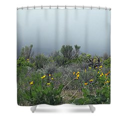 Meadow Fog Shower Curtain