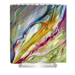 Meander Shower Curtain