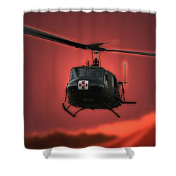 Medevac The Sound Of Hope Shower Curtain