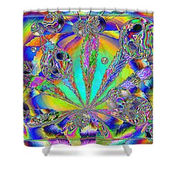 Medicinal One Shower Curtain by Joyce Dickens