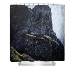 Medieval Chapel Shower Curtain by Joana Kruse