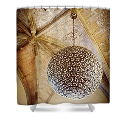Medieval Modern Shower Curtain by Valerie Reeves