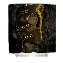 Medieval Stallion Shower Curtain by Wes and Dotty Weber