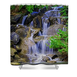 Meditation Moment Shower Curtain