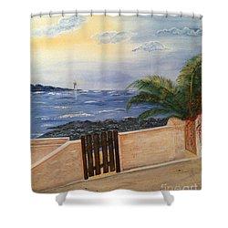 Mediterranean Bbmb0001 Shower Curtain