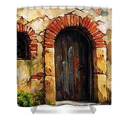 Mediterranean Portal 02 Shower Curtain