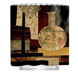 Mediterranean Vase Shower Curtain