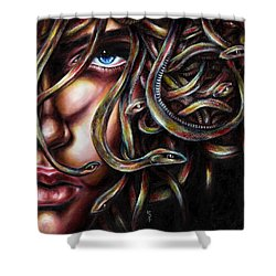 Medusa No. Two Shower Curtain