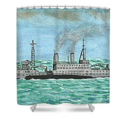 Meeting For Supplies  Shower Curtain