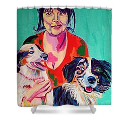Melinda Shower Curtain