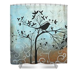 Melodic Dreams By Madart Shower Curtain by Megan Duncanson