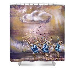 Melody Shower Curtain by Karina Llergo