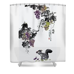 Melody Of Life II Shower Curtain