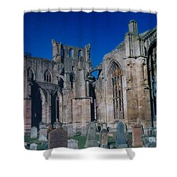 Melrose Abbey  Scotland Shower Curtain by Tim Townsend