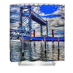 Memorial Bridge 034 Shower Curtain