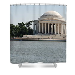 Memorial By The Water Shower Curtain