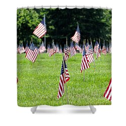 Shower Curtain featuring the photograph Memorial Day by Ed Weidman