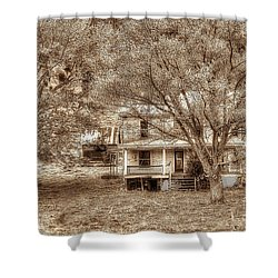 Memories Behind The Trees Shower Curtain by Dan Friend