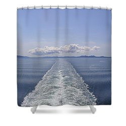 Shower Curtain featuring the photograph Memories by Brian Williamson