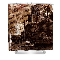 Shower Curtain featuring the photograph Memories By The Sea by Pedro Cardona