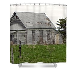 Shower Curtain featuring the photograph Memories by Deb Halloran