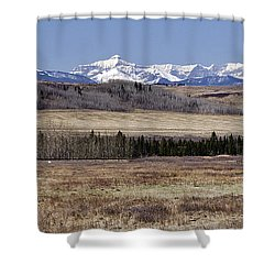 Memories Shower Curtain by Dee Cresswell
