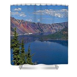 Memories Of Crater Lake Shower Curtain