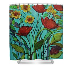 Memories Of The Meadow Shower Curtain