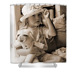 Memories Out Of Time Shower Curtain