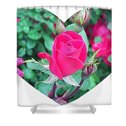 Memory Of A Mother's Love  Shower Curtain
