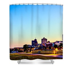 Memphis Morning - Bluff City - Tennessee Shower Curtain